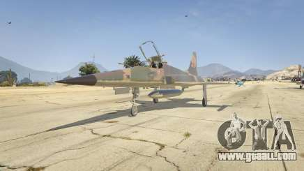 Northrop F-5E Tiger II FAB for GTA 5