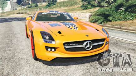Mercedes-Benz SLS AMG GT3 for GTA 5
