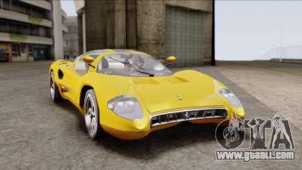 Ferrari P7 Normal for GTA San Andreas