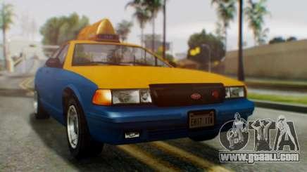 Vapid Taxi for GTA San Andreas