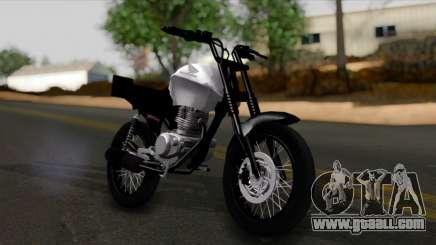 Honda CG Titan 150 Stunt Imitacion for GTA San Andreas