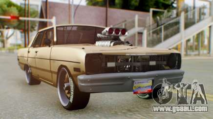 Dodge Dart 1975 Estilo Drag for GTA San Andreas