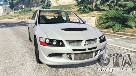 Mitsubishi Lancer Evolution VIII MR for GTA 5