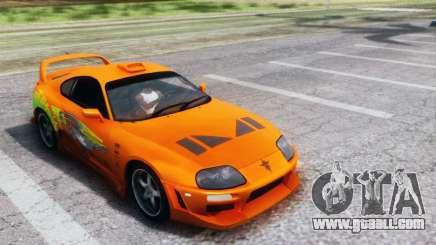 Toyota Supra TRD 1998 for GTA San Andreas