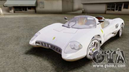 Ferrari P7 Yrid for GTA San Andreas