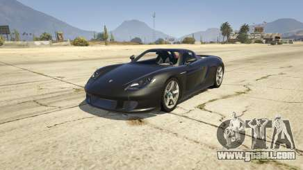 2003 Porsche Carrera GT v1.0 for GTA 5