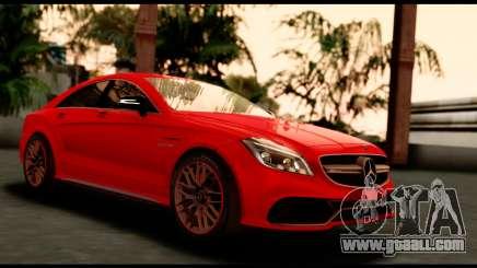 Mercedes-Benz CLS63 AMG 2015 for GTA San Andreas