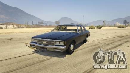 Chevrolet Impala 1985 for GTA 5