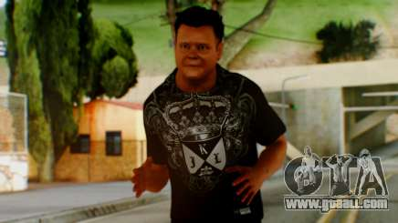 WWE Jerry Lawler for GTA San Andreas