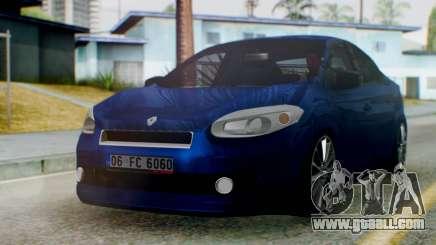 Renault Fluence King for GTA San Andreas