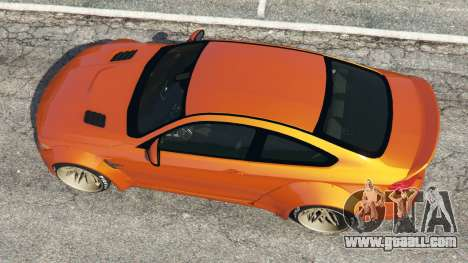 GTA 5 BMW M4 (F82) [LibertyWalk] v1.1 back view