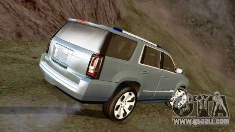 GMC Yukon Denali 2015 for GTA San Andreas left view