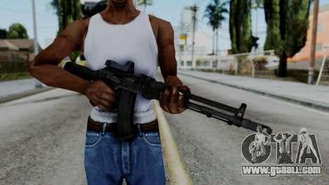Arma OA AK74-100 for GTA San Andreas third screenshot
