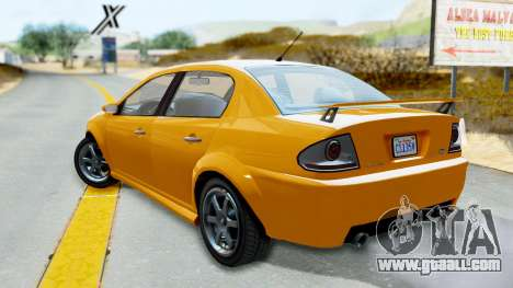 GTA 5 Declasse Premier Coupe for GTA San Andreas left view