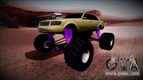 GTA 4 Washington Monster Truck for GTA San Andreas