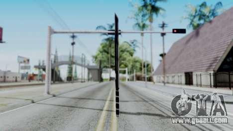 Deadpools Sword for GTA San Andreas second screenshot