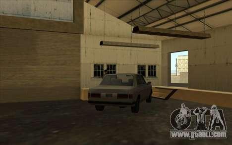 The garage at the docks for GTA San Andreas forth screenshot