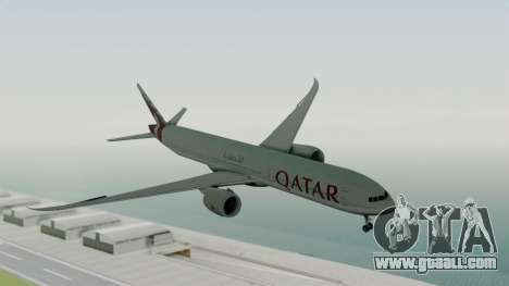 Boeing 777-9x Qatar Airways for GTA San Andreas