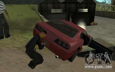 Road trip 1.0 for GTA San Andreas