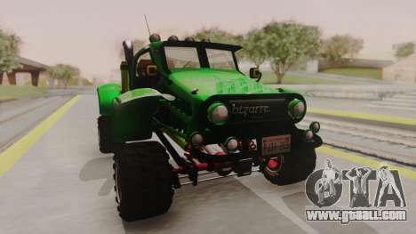 Mudmonster for GTA San Andreas right view