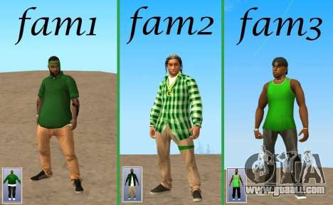 Skin Pak Grove from NeveR for GTA San Andreas