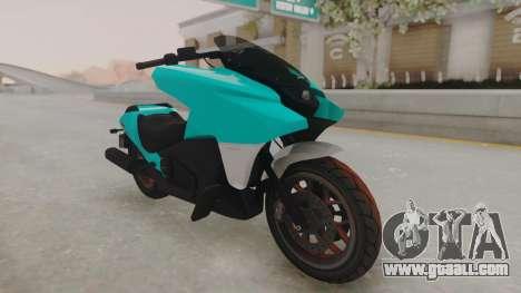 GTA 5 Dinka Vindicator SA Light for GTA San Andreas right view