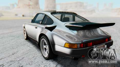 RUF CTR Yellowbird 1987 v1.1 Another Edition for GTA San Andreas back left view