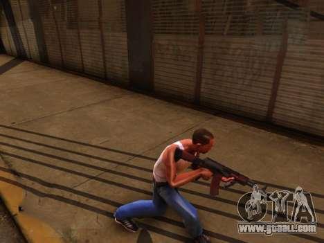 Realistic animation 2016 for GTA San Andreas third screenshot