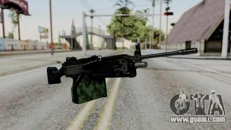 MG4 for GTA San Andreas