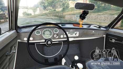 GTA 5 Volkswagen Karmann-Ghia Typ 14 1967 rear right side view