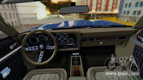 Ford Gran Torino Sport SportsRoof (63R) 1972 IVF for GTA San Andreas back left view