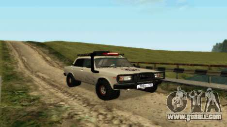 VAZ 2107 4x4 for GTA San Andreas left view