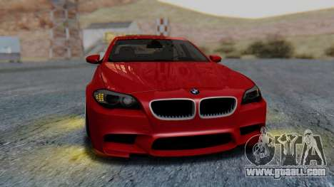 BMW M5 2012 Stance Edition for GTA San Andreas side view