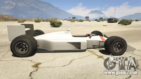 GTA 5 McLaren MP 44 left side view