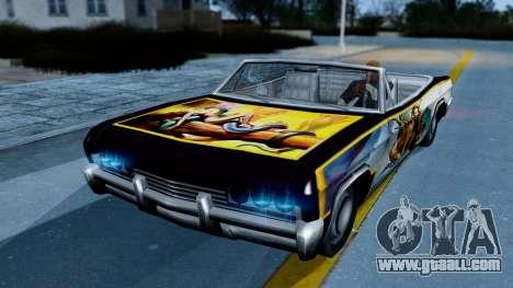 Slamvan New PJ for GTA San Andreas left view