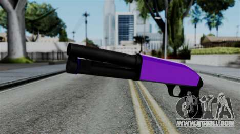 Purple Escopeta for GTA San Andreas