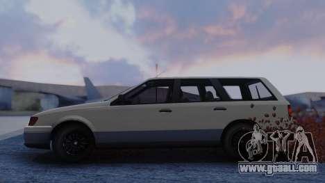 GTA 5 Vulcar Ingot for GTA San Andreas back left view