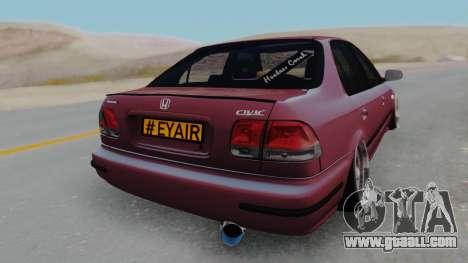 Honda Civic 1.6 for GTA San Andreas left view