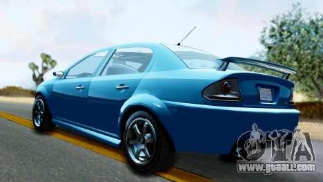 GTA 5 Declasse Premier for GTA San Andreas