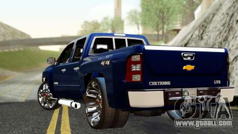 Chevrolet Cheyenne 2012 Dually for GTA San Andreas left view