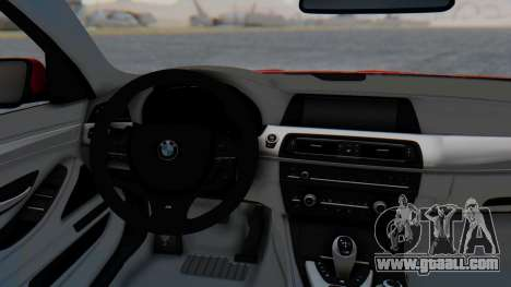 BMW M5 2012 Stance Edition for GTA San Andreas back view