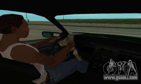 Nissan Skyline R34 Sunray (FlatOut 2) for GTA San Andreas back view