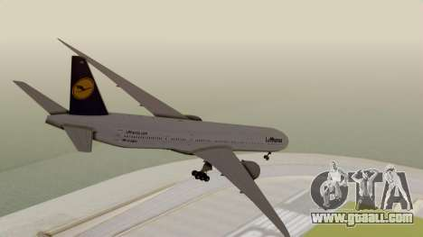 Boeing 777-9x Deutsche Lufthansa for GTA San Andreas left view