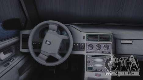 GTA 5 Vulcar Ingot IVF for GTA San Andreas back view