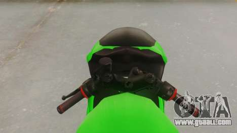 Bajaj Pulsar 200FS for GTA San Andreas back view