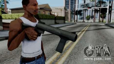 Vice City Beta Grenade Launcher for GTA San Andreas third screenshot