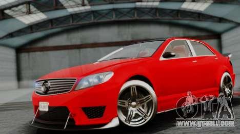 GTA 5 Benefactor Schafter V12 IVF for GTA San Andreas