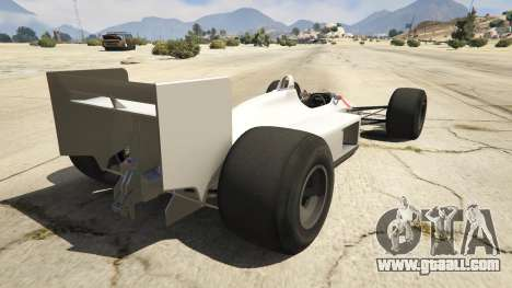 GTA 5 McLaren MP 44 rear left side view