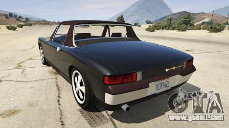 GTA 5 1970 Porsche 914 rear left side view