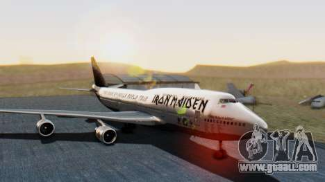 Boeing 747-428 Ed Force One for GTA San Andreas
